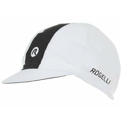Rowerowa czapka z daszkiem pod kask Rogelli RETRO, biało-czarny 009.970, Rogelli