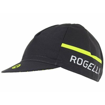 Czapka rowerowa pod kask Rogelli HERO, czarny odblaskowy żółty 009.971