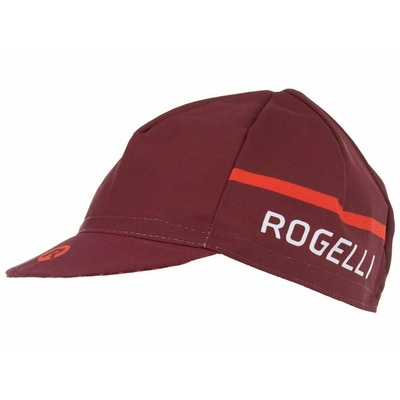 Czapka rowerowa pod kask Rogelli HERO, bordowo-czerwona 009.973