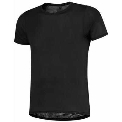 Keenzwykle funkcjonalne sportowa koszulka Rogelli KITE z krótkim rękawem, czarne 070.015, Rogelli