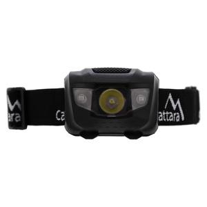 Latarka czołowa Compass LED 80lm czarny, Compass