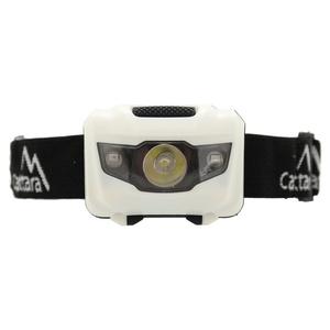 Latarka czołowa Compass LED 80lm czarno-biały, Compass