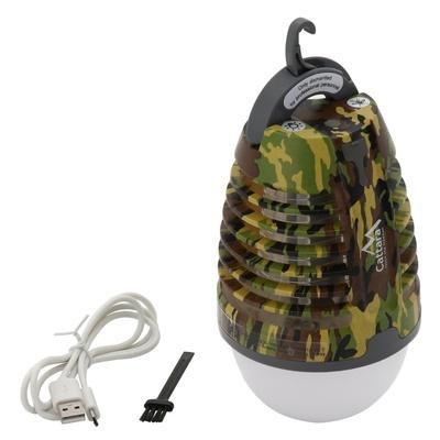 Lampa GRUSZKA ARMY Cattara do ładowania + pułapka owady