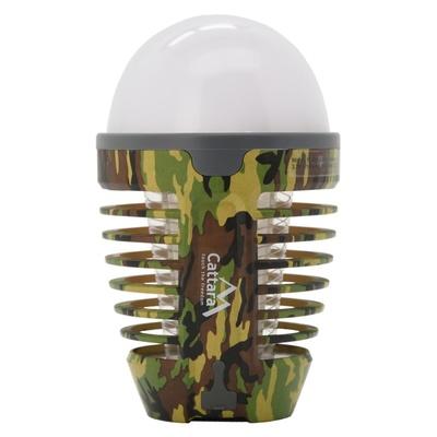 Lampa GRUSZKA ARMY Cattara do ładowania + pułapka owady, Cattara