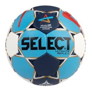 Ręczna piłka Select HB Ultimate Replica Champions League Men biało niebieska, Select