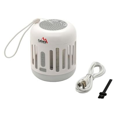 Lampa MUSIC CAGE Cattara Bluetooth do ładowania + UV pułapka owady, Cattara