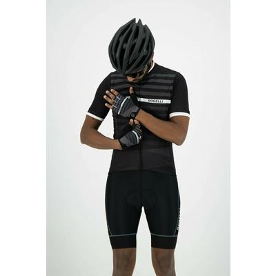 Rekawice rowerowe Rogelli STRIPE, czarno-biały 006.310, Rogelli