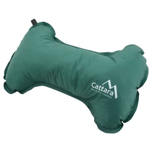 poduszka samopompująca Cattara KOŚCI 40x25x13cm zielony, Cattara