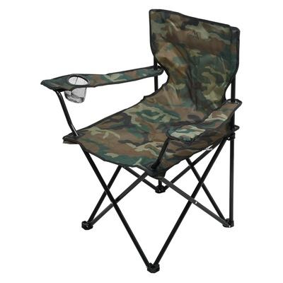 Krzesło kempingowe składana Cattara LIPARI ARMY