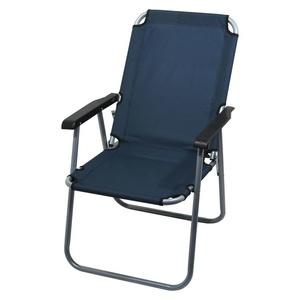 Krzesło kempingowe składana Cattara LYON ciemno niebieska, Cattara