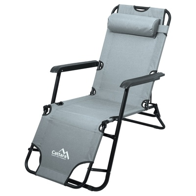Leżak/krzesło Cattara COMFORT szary, Cattara