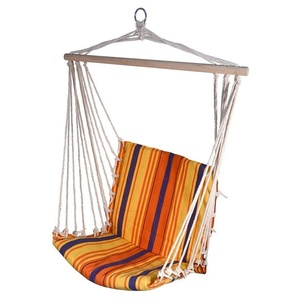 Hamak siatka do sziedzenia Cattara Hammock Chair czerwono-pomarańczowy, Cattara