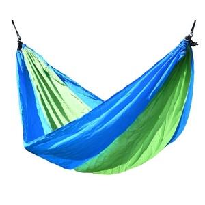 Hamak siatka do sziedzenia Cattara NYLON 275x137cm zielono-niebieski, Cattara
