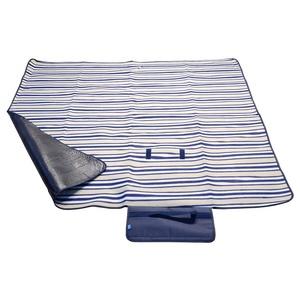 Piknikowa koc Cattara FLEECE 150x135cm niebieska, Cattara