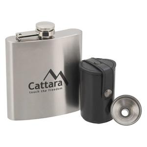 Piersiówka zestaw Cattara 1+4 175ml, Cattara