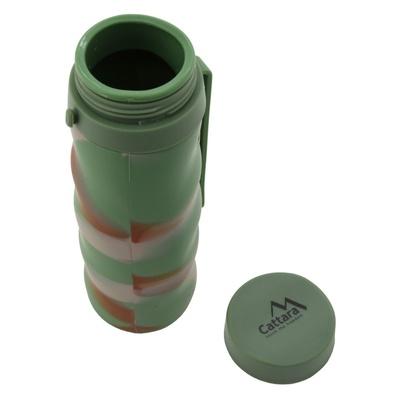 Silikonowa butelka Cattara ARMY 550ml, Cattara