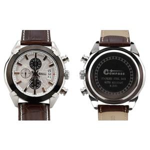 Obserwować Cattara CHRONO WHITE Compass, Cattara