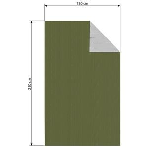Izotermiczny folia Cattara SOS zielony 210x130cm, Cattara
