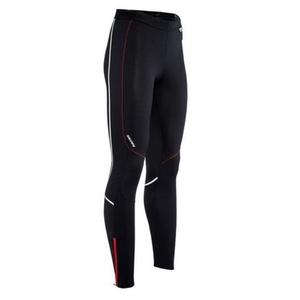Męskie elastyczne spodnie Silvini MOVENZA MP1312 black red, Silvini