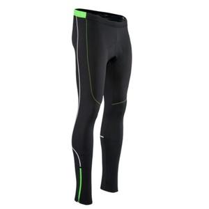 Męskie elastyczne ocieplane spodnie Silvini RUBENZA MP1319 black green, Silvini
