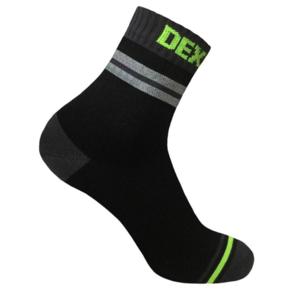 Skarpety DexShell Pro Visibility Cycling Sock Grey stripe, DexShell