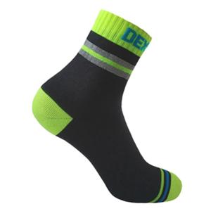Skarpety DexShell Pro Visibility Cycling Sock Yellow stripe, DexShell