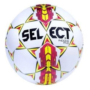Futbolowa piłka Select FB Indoor Five biało czerwona, Select