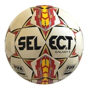 Futbolowa piłka Select FB Galaxy biało czerwona, Select