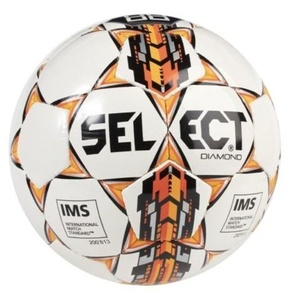 Futbolowa piłka Select FB Diamond Special czarno pomarańczowy, Select