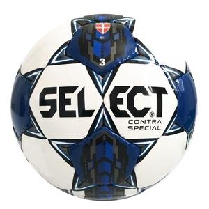 Futbolowa piłka Select FB Contra Special biało niebieska, Select