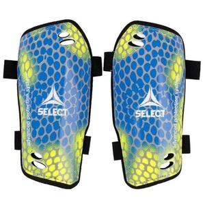 Ochraniacze golenie Select Shin guards Standard żółto niebieska, Select