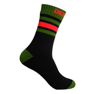 Skarpety DexShell Ultra Dri Sport Sock Black / Blaze pomarańczowy, DexShell