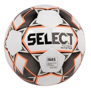futsalowy piłka Select FB Futsal Master biało pomarańczowy, Select