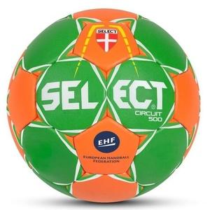 Ręczna piłka Select HB Circuit 450 zielono pomarańczowy, Select