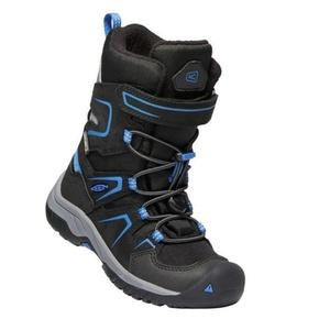 Dziecięce buty Keen Levo Winter WP C, czarny / baleine blue, Keen
