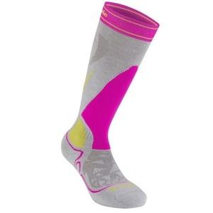 Skarpety Bridgedale Ski Midweight Women's gray/pink/823, bridgedale
