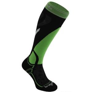 Skarpety Bridgedale Ski Midweight black/green/843, bridgedale