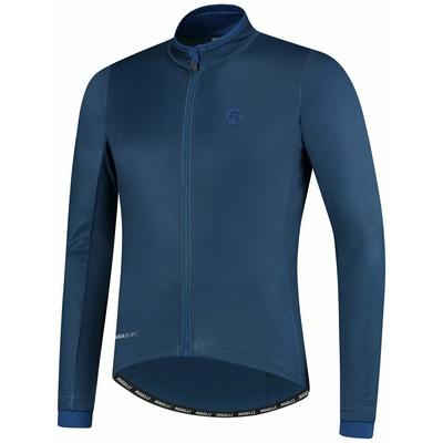Grzejący rowerowy bluza Rogelli ESSENTIAL z długim rękawem, niebieski 001.107, Rogelli