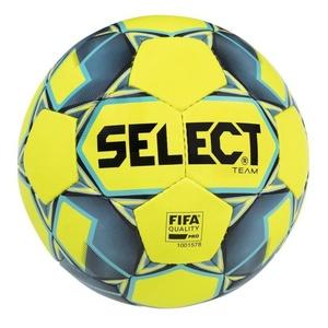 Futbolowa piłka Select FB Team FIFA żółto niebieska rozmiar. 5, Select