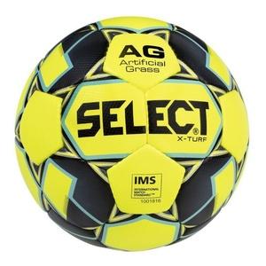 Futbolowa piłka Select FB X-Turf żółto siwy, Select