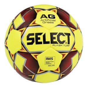 Futbolowa piłka Select FB Flash Turf żółto czerwona, Select