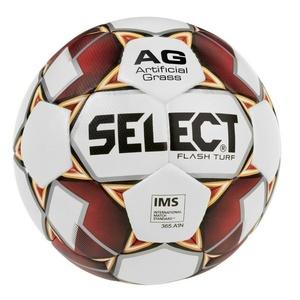 Futbolowa piłka Select FB Flash Turf biało czerwona, Select