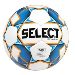 Futbolowa piłka Select FB Diamond biało niebieska, Select