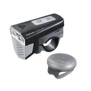 Lampa Topeak SOUNDLITE USB z róg, Topeak