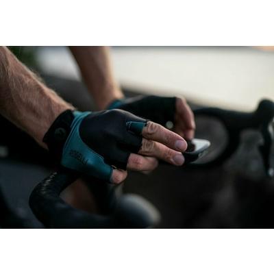 Rękawice do rower Rogelli PRESA, czarno-khaki 006.360, Rogelli