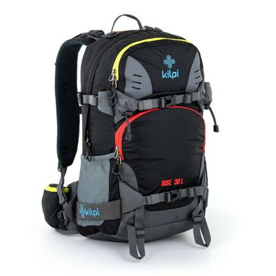 Freeride i plecak alpejski Kilpi RISE-U czarny, Kilpi