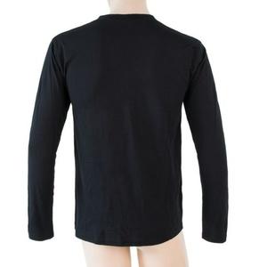 Męskie koszulka Sensor MERINO ACTIVE PT LABEL czarny 18200016, Sensor