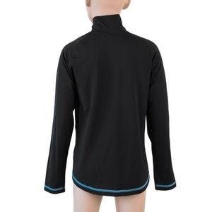 Dziecięce koszulka Sensor Thermo długi rękaw rzep czarny / ufo, Sensor