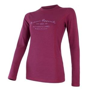 Damskie koszulka Sensor MERINO DF LABEL lilla 18200020, Sensor