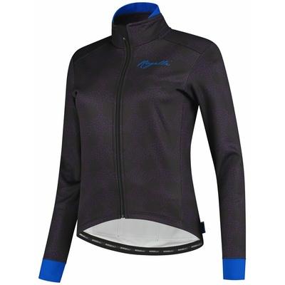 Ultralekka kobiety kurtka rowerowa Rogelli BLOSSOM z grzywna izolacją, fioletowo-niebieski 010.326